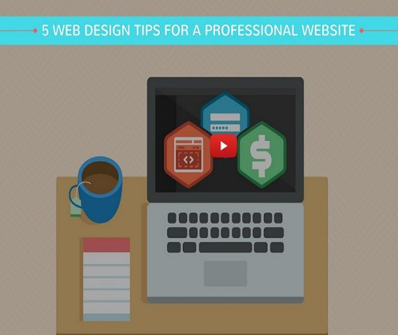 5 Web design Tips for Professional Website